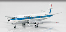 "United Airlines Vickers Viscount 700 - ""N7411,"""