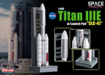 Titan IIIE Rocket NASA, w/Launch Tower
