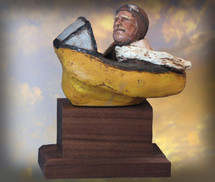 """Stick & Rudder"" Hand-Painted Sculpture Garman Sculptures"