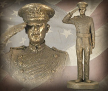 """USAFA Cadet - Male"" Bronze-Toned Sculpture Garman Sculptures"