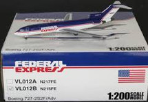"Federal Express 727-200F - N215FE "" with FedEx Title on Tail"" - Limited"