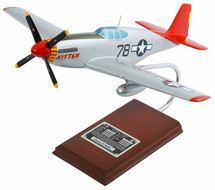 P-51C TUSKEGEE AIRMAN SIGNED BY CHARLES MCGEE 1/24