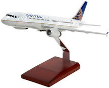 UNITED A320 1/100 POST CONTINENTAL LIVERY