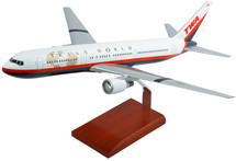 TWA 767-300 1/100 NEW LIVERY