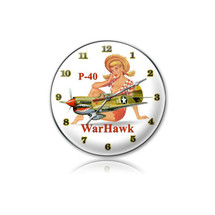 """P-40 Warhawk Clock"" Pasttime Signs"
