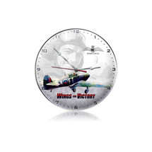 """""""Wings For Victory Clock"""" Pasttime Signs"""