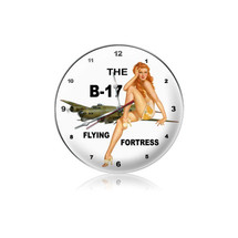"""B-17 Redhead Clock"" Pasttime Signs"