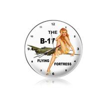 """B-17 Redhead Clock"" Pasttime Signs"