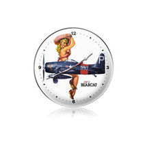 """F8F-2 Bearcat Clock"" Pasttime Signs"