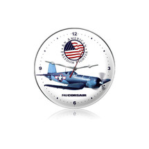 """F4U Corsair Clock"" Pasttime Signs"