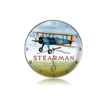 """Stearman Clock"" Pasttime Signs"