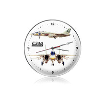 """F-14 Tomcat Clock"" Pasttime Signs"