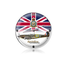 """Spitfire Union Jack Clock"" Pasttime Signs"