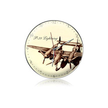 """""""P-38 Drawing Clock"""" Pasttime Signs"""