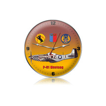 """P-51 Tags Clock"" Pasttime Signs"