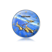 """P-38 Ocean Clock"" Pasttime Signs"