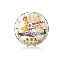 """Big Beautiful Doll Clock"" Pasttime Signs"
