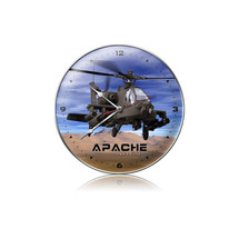 """AH-64 Apache Clock"" Pasttime Signs"