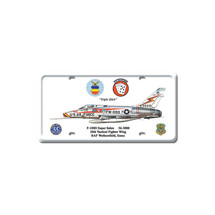 """F-100D Super Sabre"" Pasttime Signs"