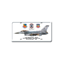 """F-16C Fighting Falcon"" Pasttime Signs"