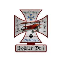 """""""Fokker DR-1"""" Pasttime Signs"""
