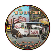 """Airplane Cafe"" Pasttime Signs"
