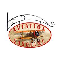 """""""Aviation Gasoline""""   Pasttime Signs   PT-OS034"""