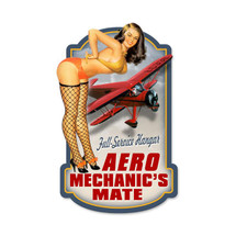 """Aero Mechanics"" Pasttime Signs"