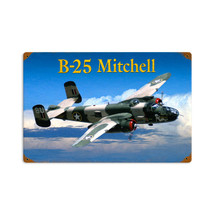 """B25 Mitchell"" Pasttime Signs"