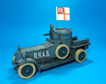 Rolls Royce Armoured Car, Royal Naval Air Service, 1914