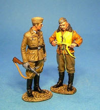 Pilot and NCO of Luftwaffe Signals Unit (2pcs)