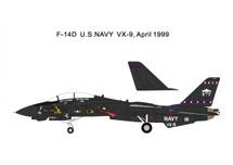 F-14D Tomcat, U.S. Navy VX-9 Vampires Vandy 1999