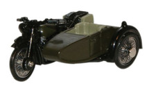 BSA Motorcycle Sidecar - 34th Armoured Brigade, 1945
