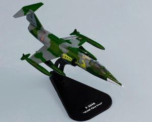 F-16 Adf 1000 Hours  1:100 Die-cast Model ITALERI