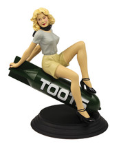 Toots Nose Art Statuette - B-17F Flying Fortress, 360th BS, 303rd BG, 8th AF Flightplan Collectibles