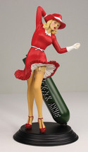 Ack Ack Annie Nose Art Statuette - B-17G Flying Fortress, 332nd BS, 91st BG, 8th AF Flightplan Collectibles