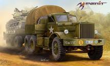 U.S. M19 Tank Transporter, Hard Top Cab (Model Kit)