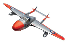 Vampire T11 WZ590 5FTS RAF Duxford 1962