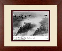 "Ploesti Raid framed photograph signed by ""Utah Man"" pilot Walter Stewart"