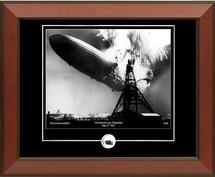 Hindenburg framed photograph (horizontal)
