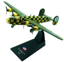 """B-24D Liberator """"You Cawn`t Miss It"""" 448th BG"""