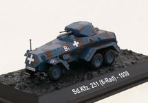 Sd.Kfz.231 Schwerer Panzerspaehwagen 4th Panzer Division