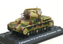 Sd.Kfz.161/4 Flakpanzer IV Wirbelwind s.Pz.Jg.Abt 560, German Army, Hungary, 1945