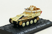 Sd.Kfz.140 Flakpanzer 38(t) Gepard 1st SS Panzer Division Leibstandarte SS Adolf Hitler, Battle of the Bulge, 1944