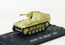 """Sd.Kfz.124 Wespe 5th SS Panzer Division """"Wiking,"""" Waffen-SS, 1943"""