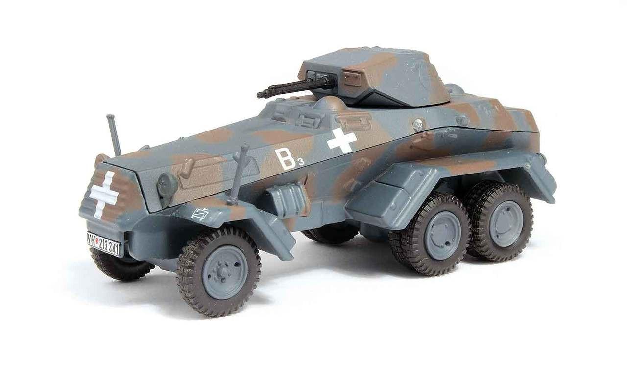 PANZERSTAHL 88017 Sd.Kfz.234//4 Prag 1945 Fertigmodell in 1:72