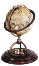 Terrestrial Globe With Compass Authentic Models