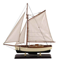 1930s Classic Yacht, Small Authentic Models