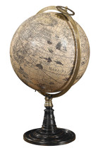 Old World Globe Stand Authentic Models
