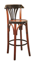 Barstool De Luxe 'Grand Hotel', Honey Authentic Models